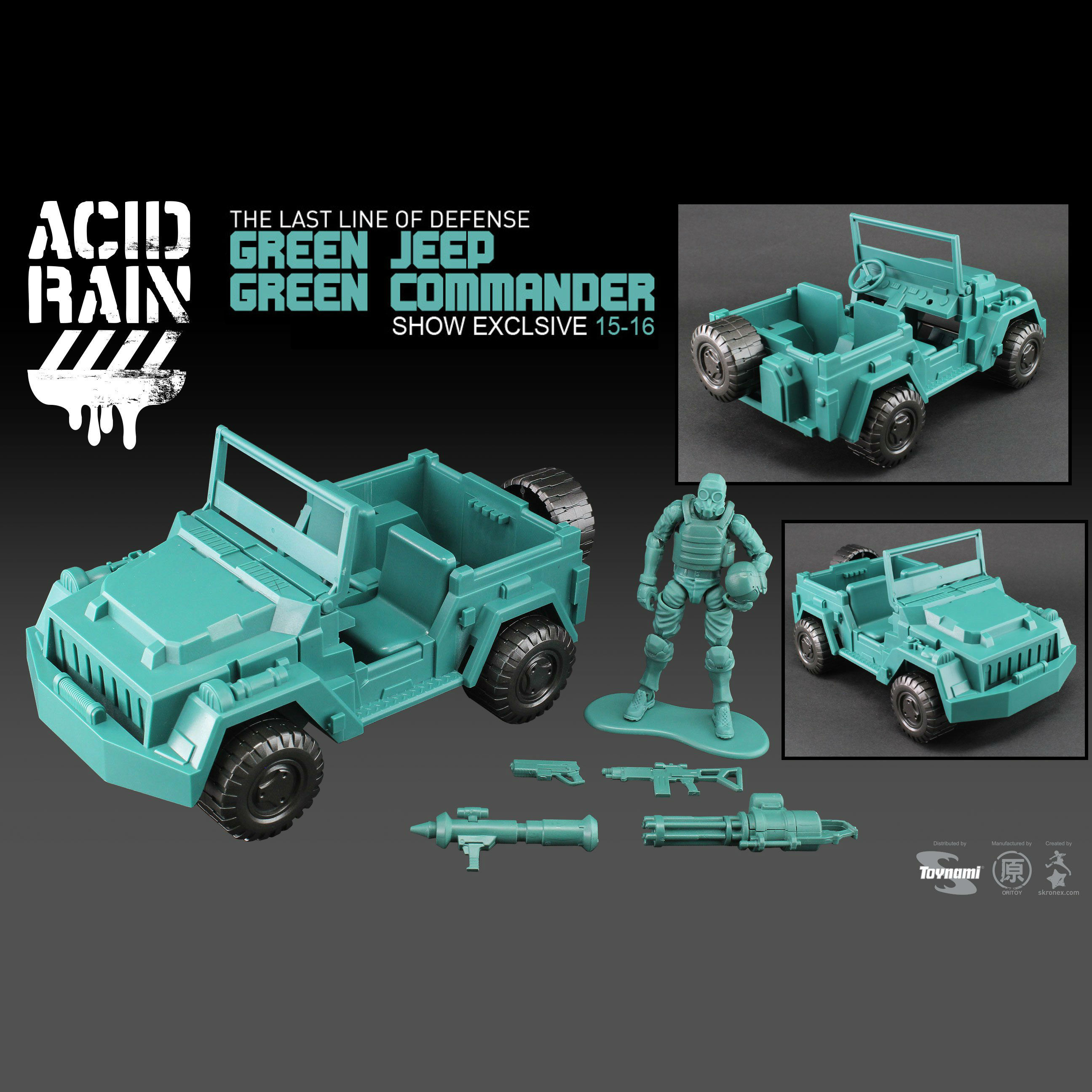 1:18 Action figure archive Acid Rain World checklist