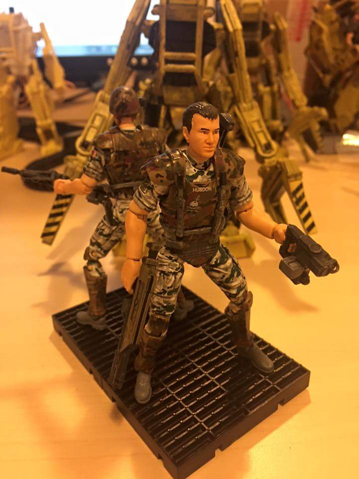 1:18 Aliens Colonial Marines Checklist