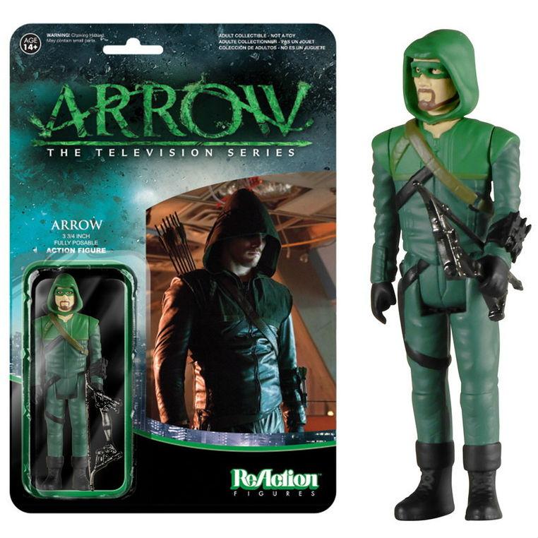ReAction Arrow 1:18 action figures