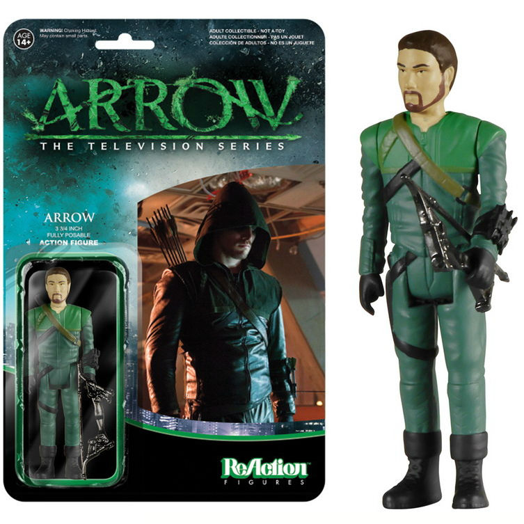 1:18 Action Figure Archive : ReAction Arrow checklist