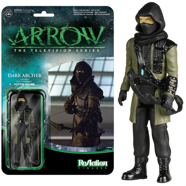 1:18 action figure archive checklist Dark Archer Arrow ReAction