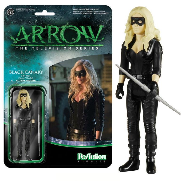 1:18 action figure archive checklist Arrow ReAction