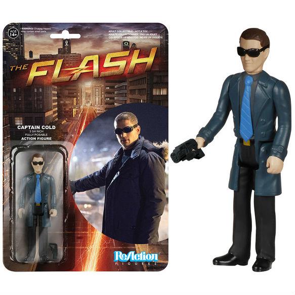 1:18 action figure ReAction checklist Captain Cold Flash