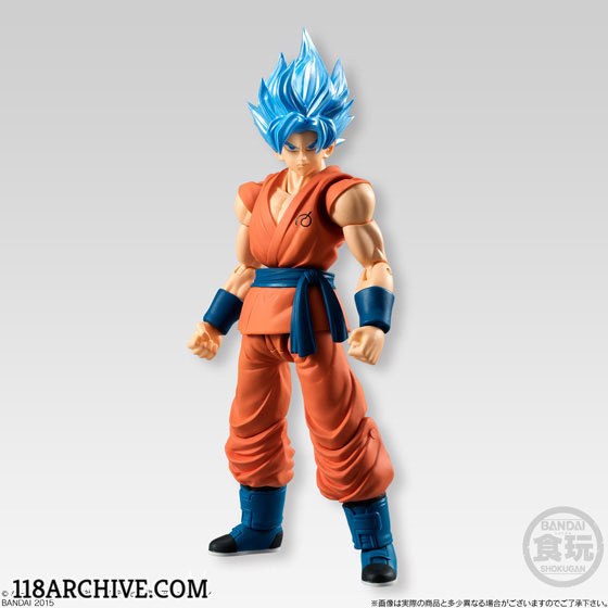 1:18 Action figure checklist - Dragonball Z