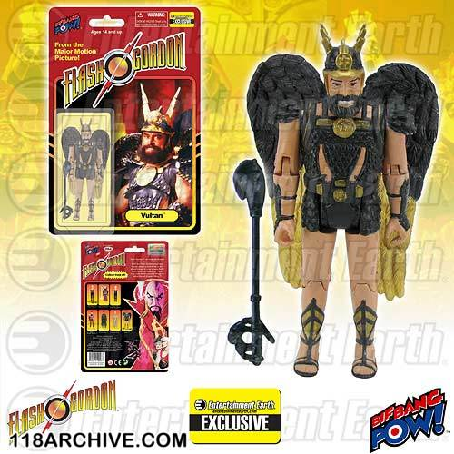 1:18 Archive Flash Gordon Action figure checklist by Biff Bang Pow