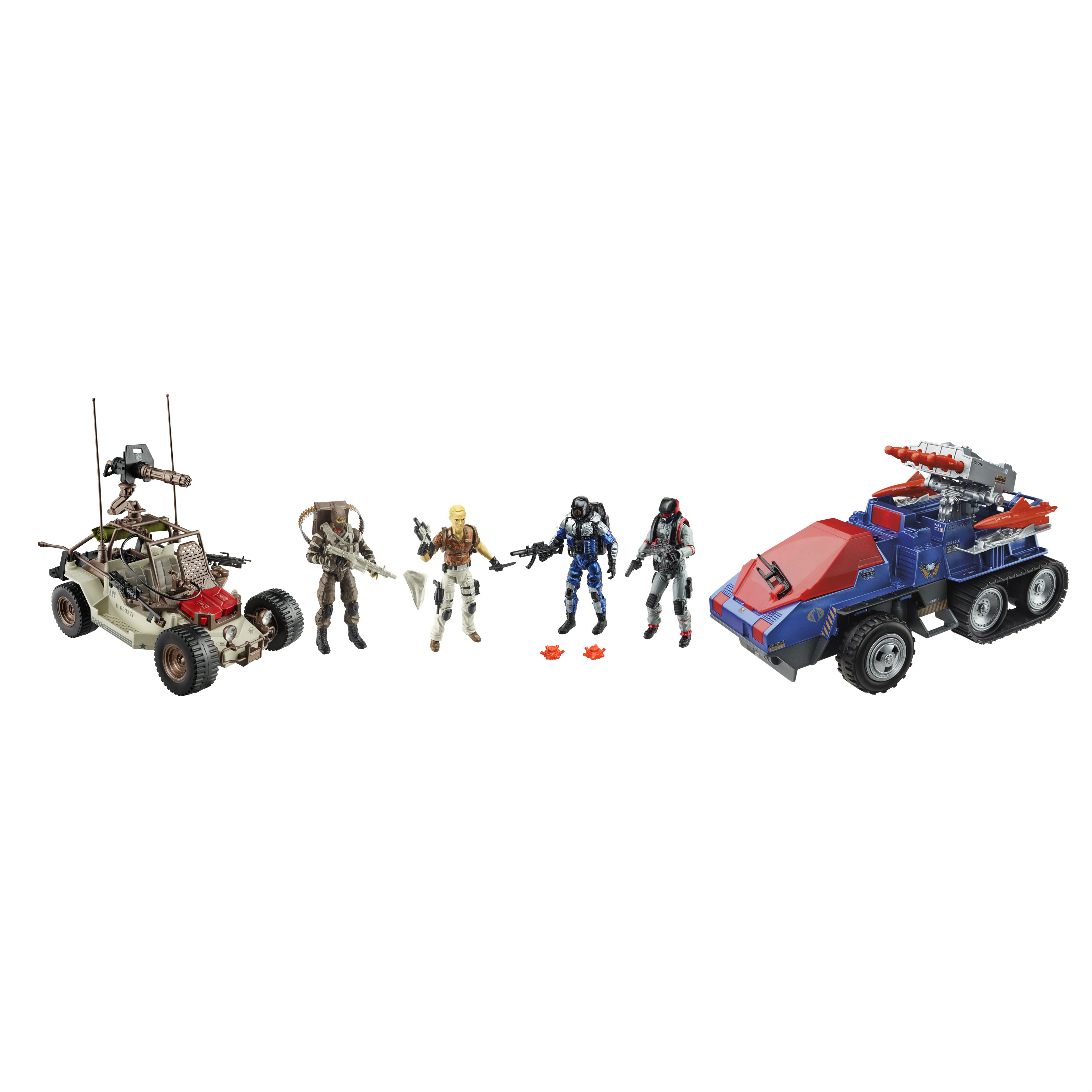 1:18 action figure archive : GI Joe 50th anniversary checklist