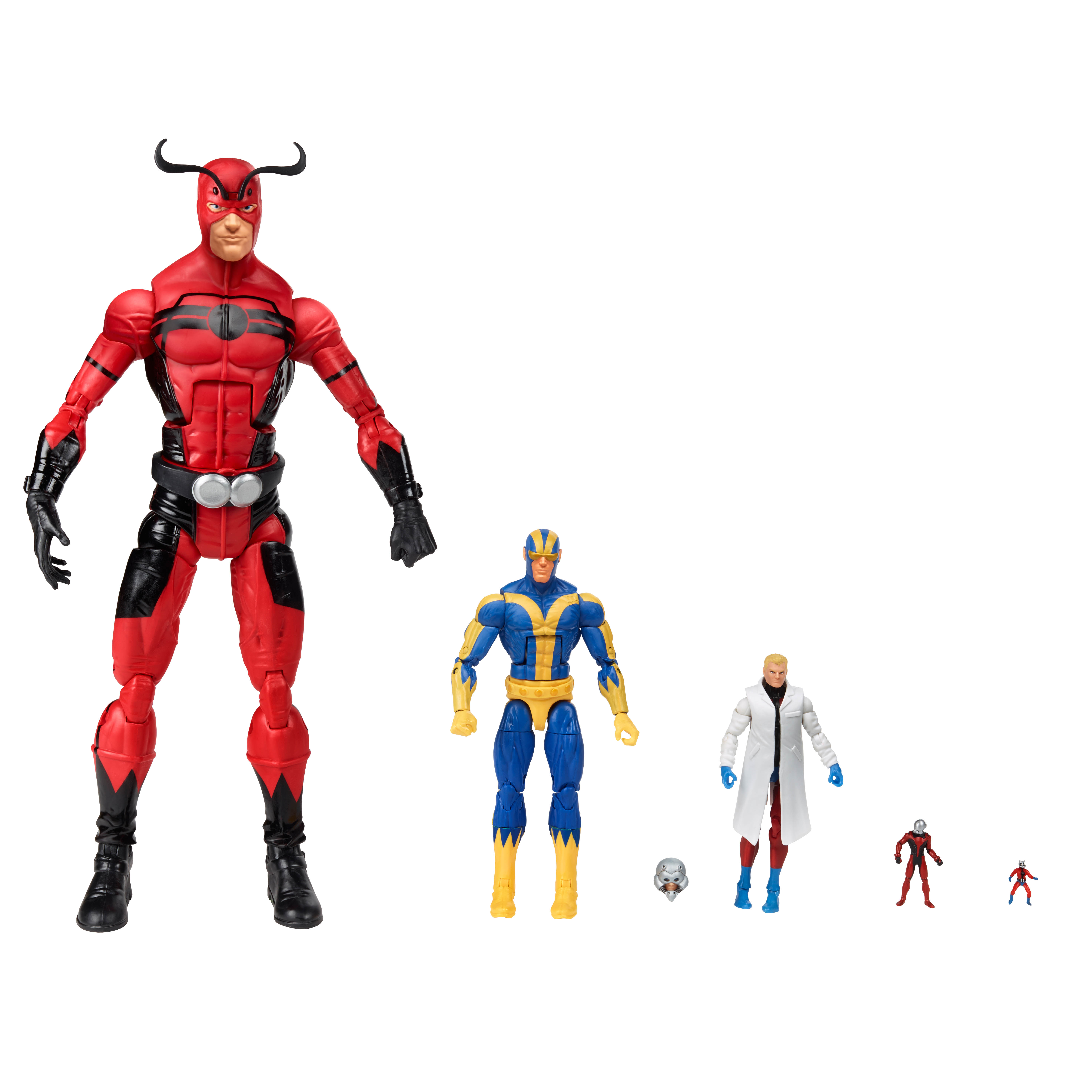 1:18 action figure archive : Marvel Infinite Series checklist