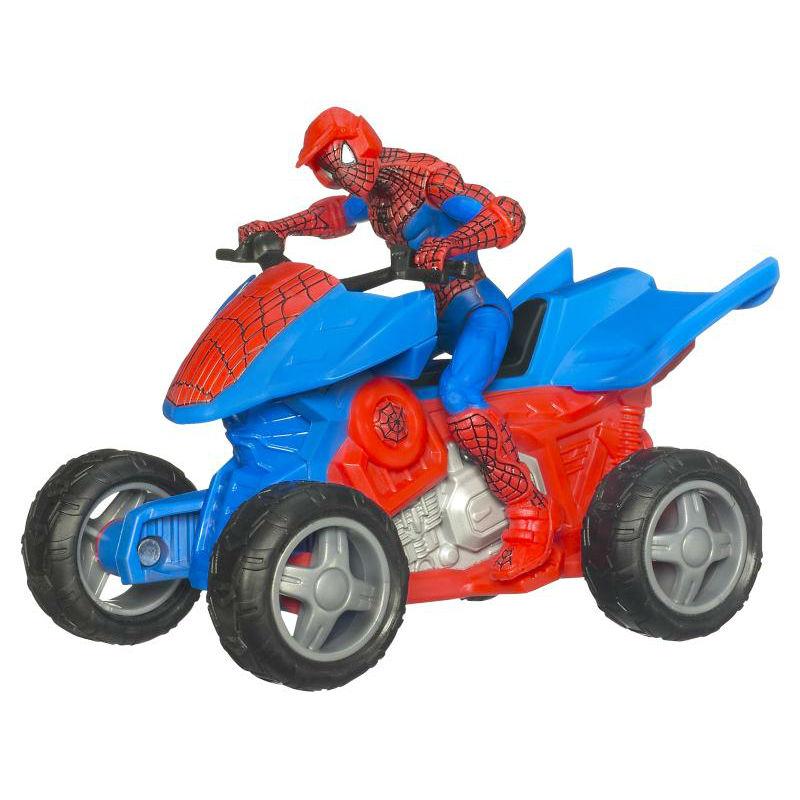 1 18 action figure details atv 4x4 - Quad spiderman ...