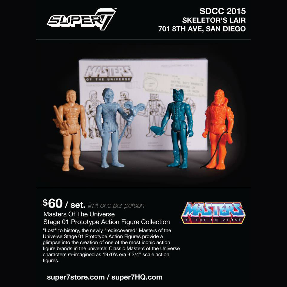 1:18 Action Figure Archive : Masters of the Universe Retro checklist