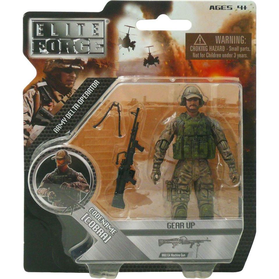 Military Toys Elite Force 1 18 : Action figure details cobra military