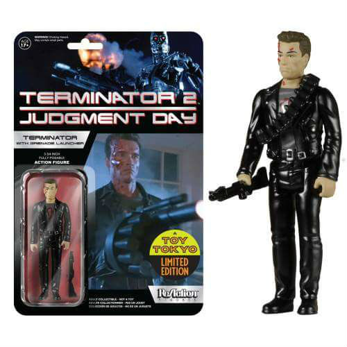 1:18 Action Figure Archive : ReAction Terminator 2 checklist